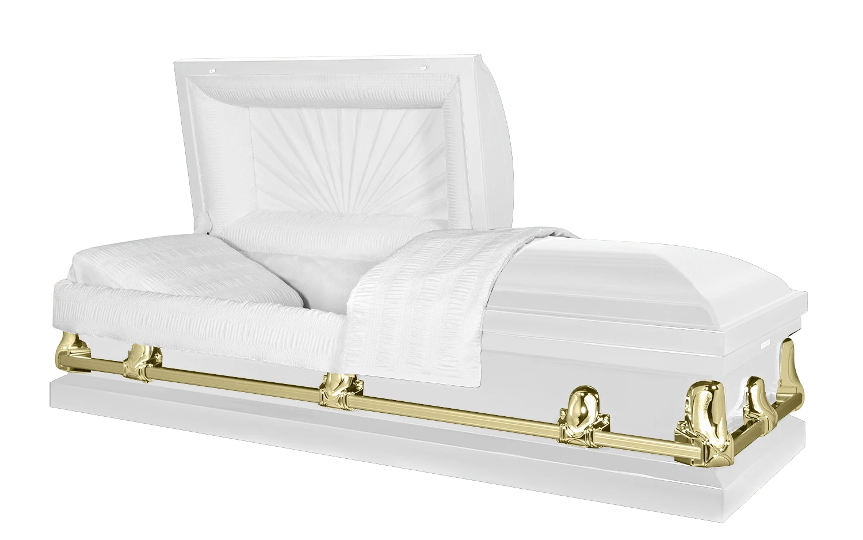 White Casket from Titan Casket