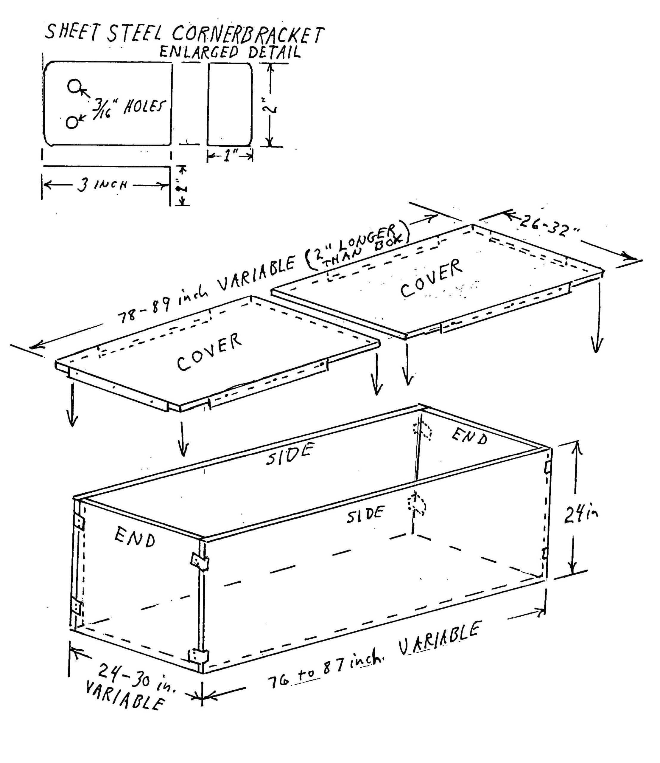 sectional burial liner patent sketch